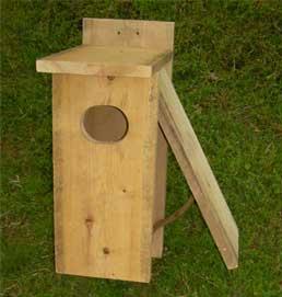Tel woodworking cypress wood duck nesting box publicscrutiny Choice Image